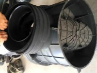 塑料井的安装/正林环保